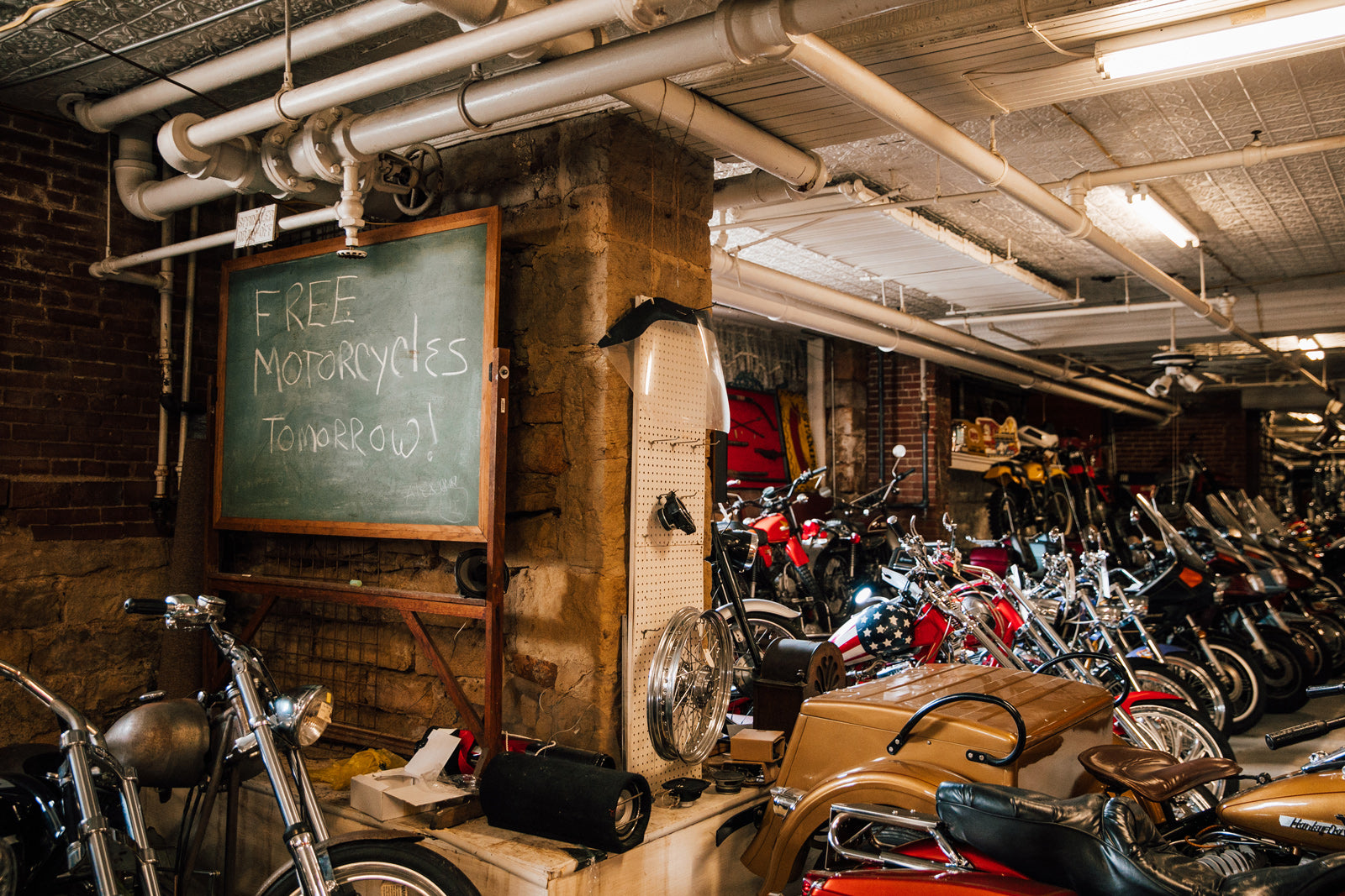 Cycle Warehouse Butler PA Vintage Motorcycle Parts Pittsburgh