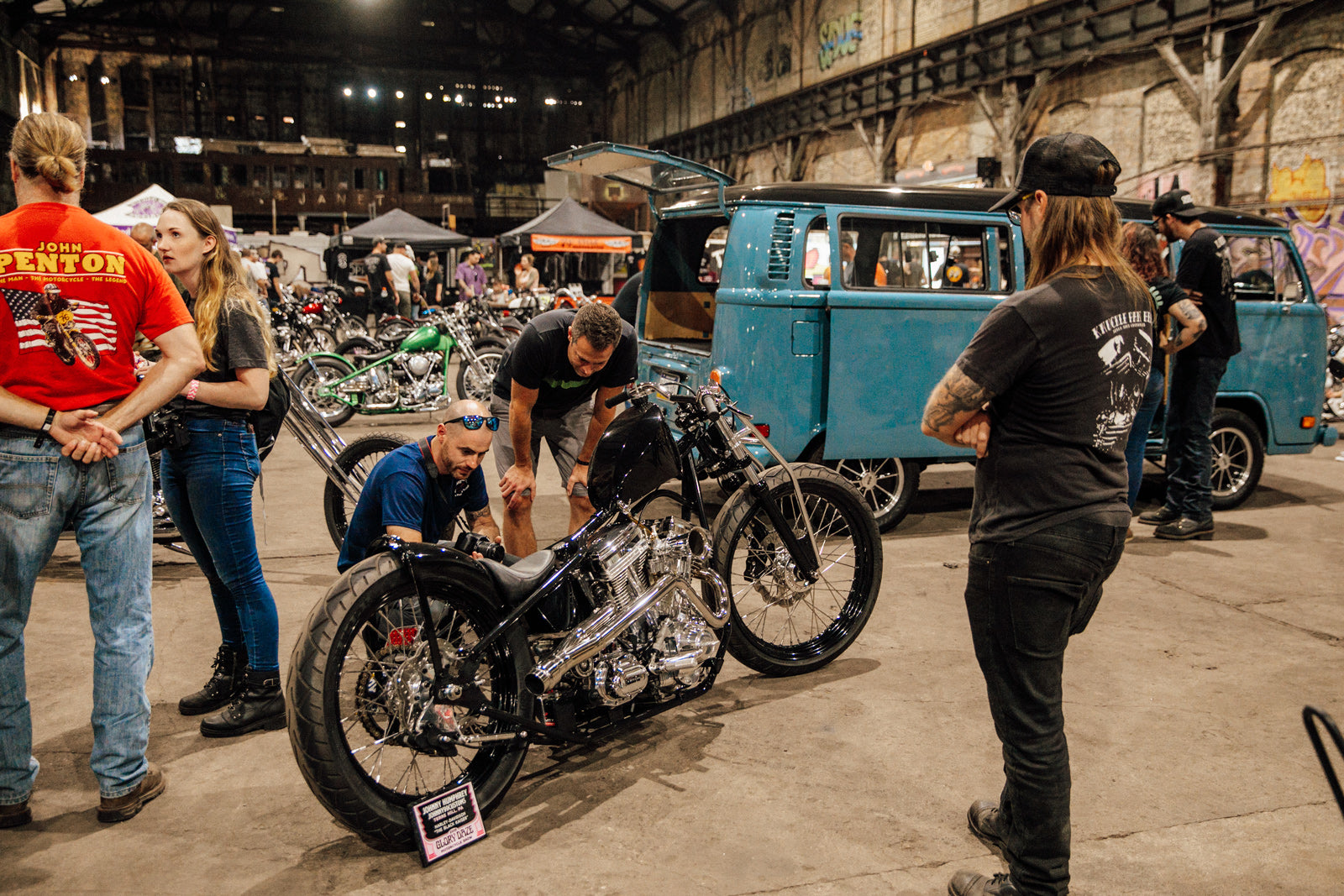 Glory Daze Vintage Custom Motorcycle Chopper Show Pittsburgh PA