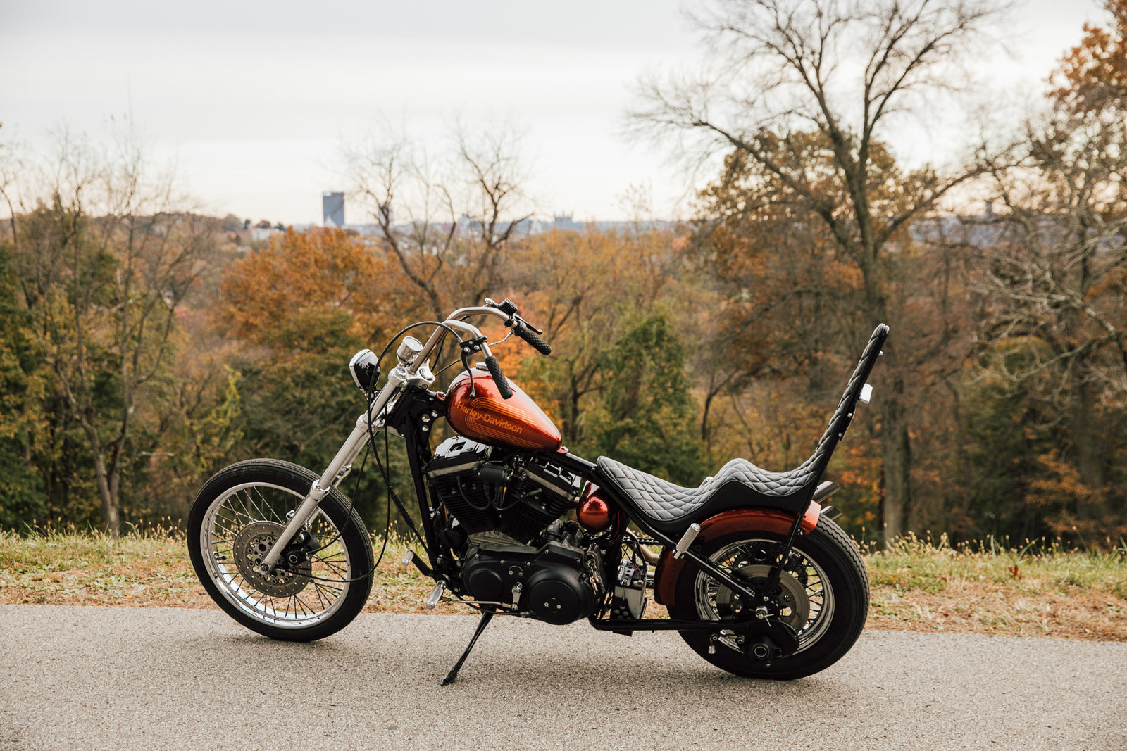 Harley-Davidson Sportster Chopper Custom Motorcycle Pittsburgh