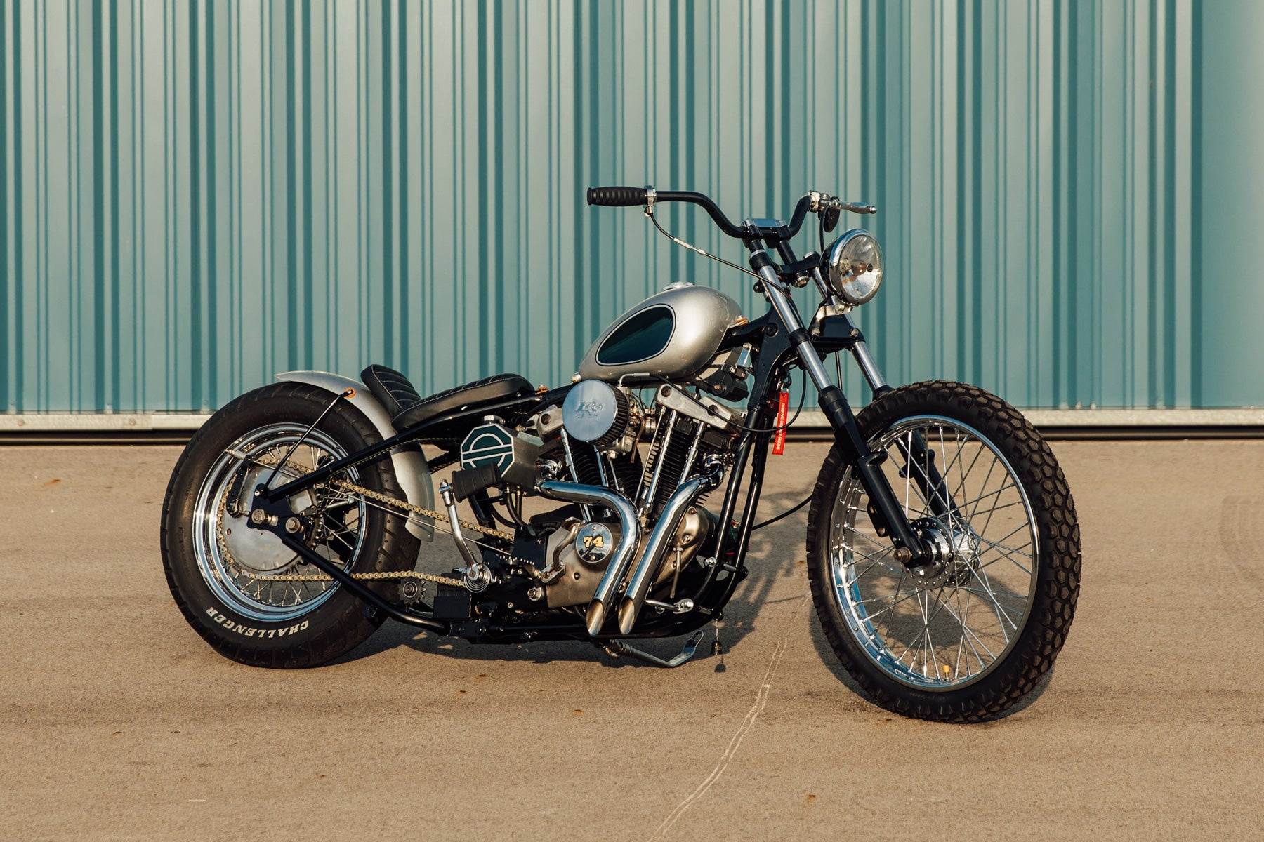 Harley-Davidson Sportster Ironhead Custom Motorcycle Beaver County Airport Pittsburgh