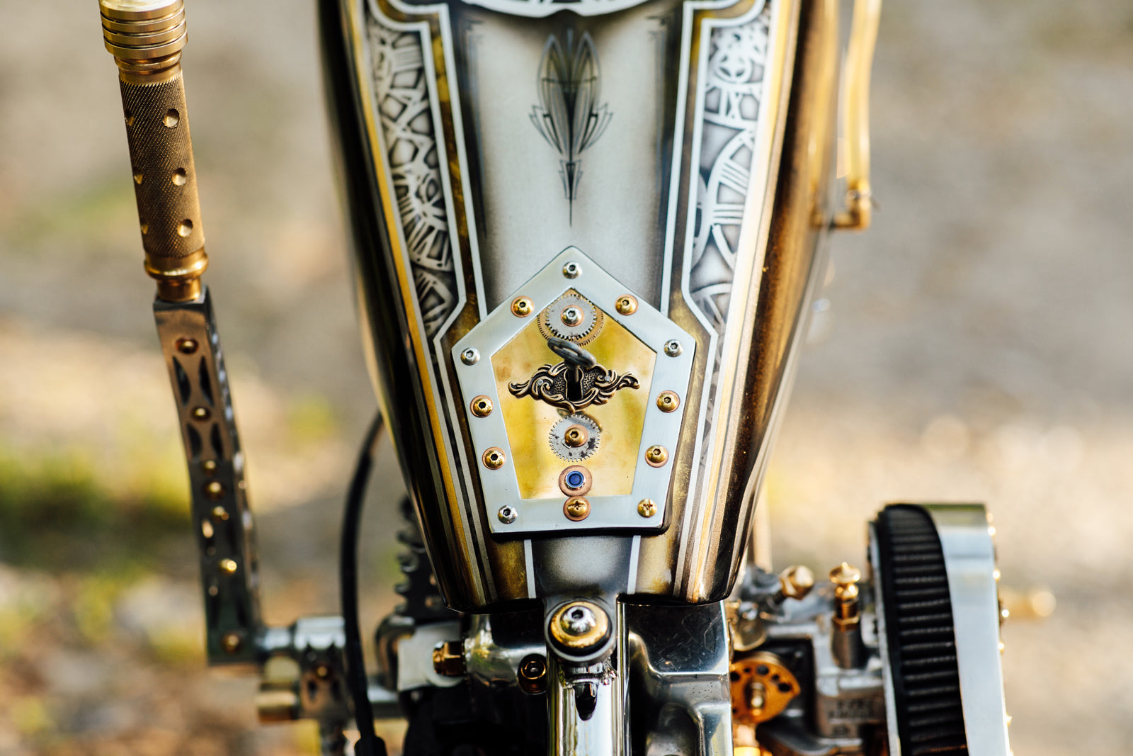 Harley-Davidson Steampunk Ironhead Sportster Motorcycle Pittsburgh