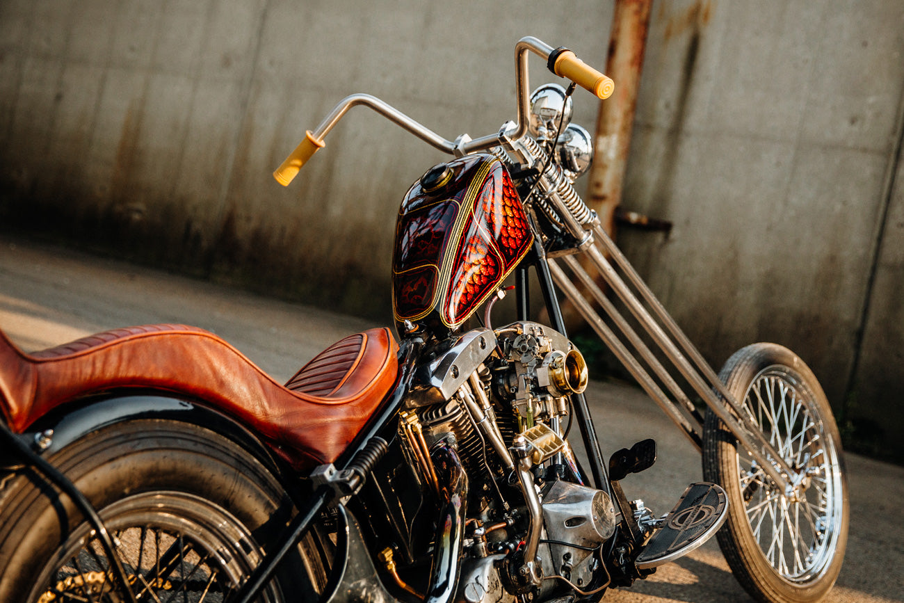 Harley FLH Shovelhead Chopper Motorcycle Pittsburgh
