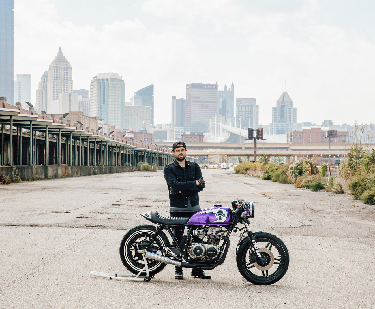 Honda CB650 Cafe Racer Custom Motorcycle Pittsburgh
