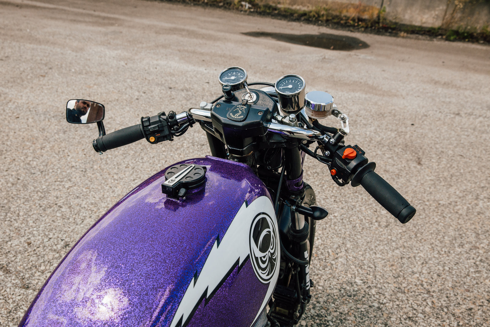 Violet Cb650 Pittsburgh Moto Pittsburgh S Custom Motorcycle Culture
