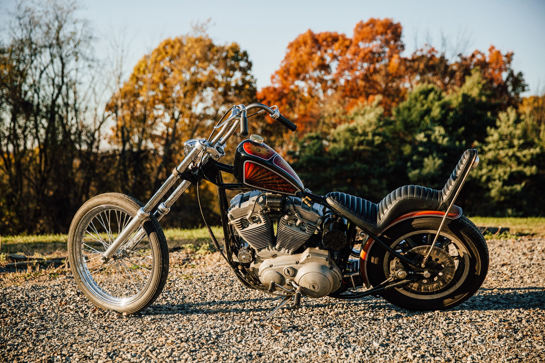 1988 Harley-Davidson Sportster Chopper Motorcycle Pittsburgh