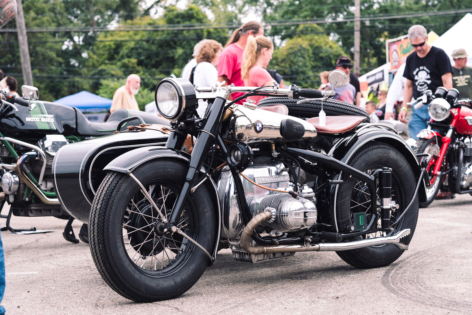 Steel City Mods and Rockers Vintage Motorcycle Show Pittsburgh