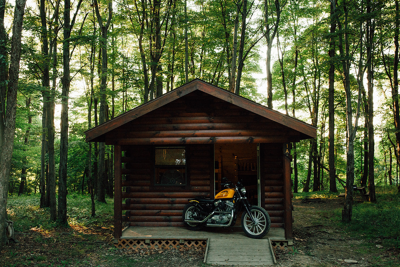 Tomlinson Run State Park Motorcycle Camping
