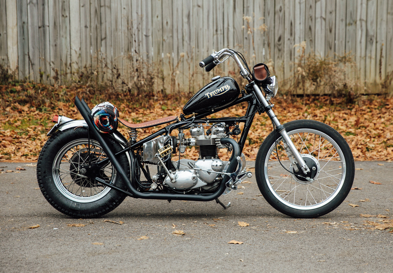 1968 Triumph TR6 Chopper Bobber Vintage Motorcycle Pittsburgh