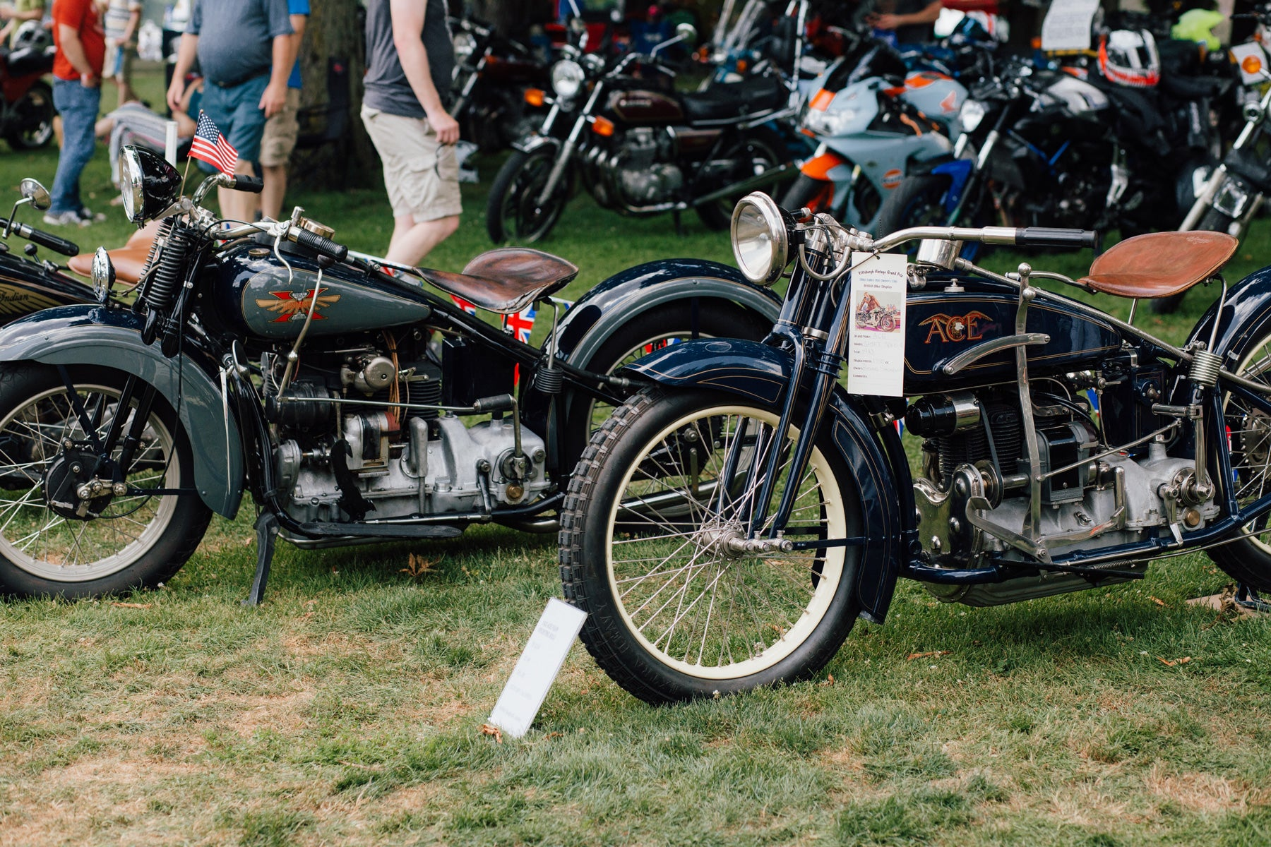 Pittsburgh Vintage Grand Prix 2018 Motorcycle Event