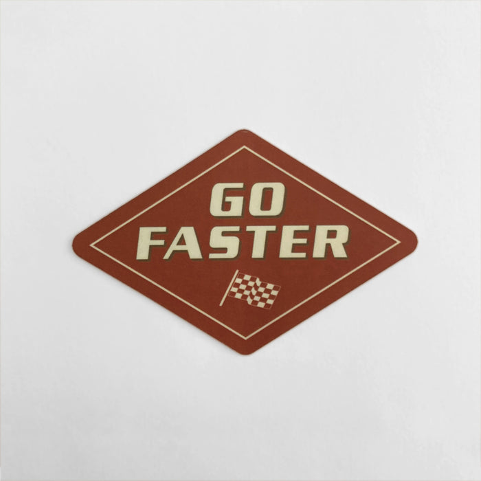 Go Faster Sticker