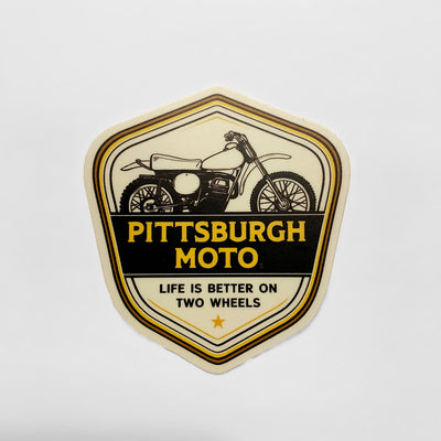 Two Wheels Sticker