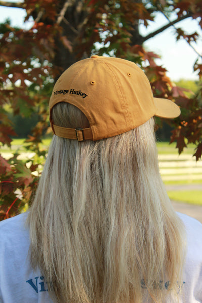 Buckle Back Hat- Gold