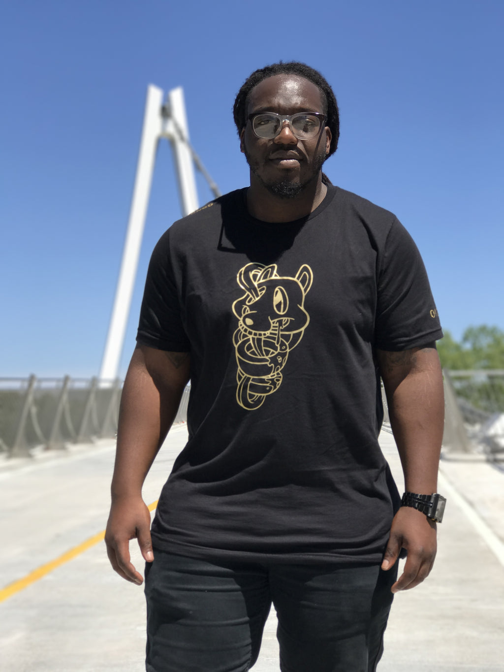 DNGO All Gold Tee Men