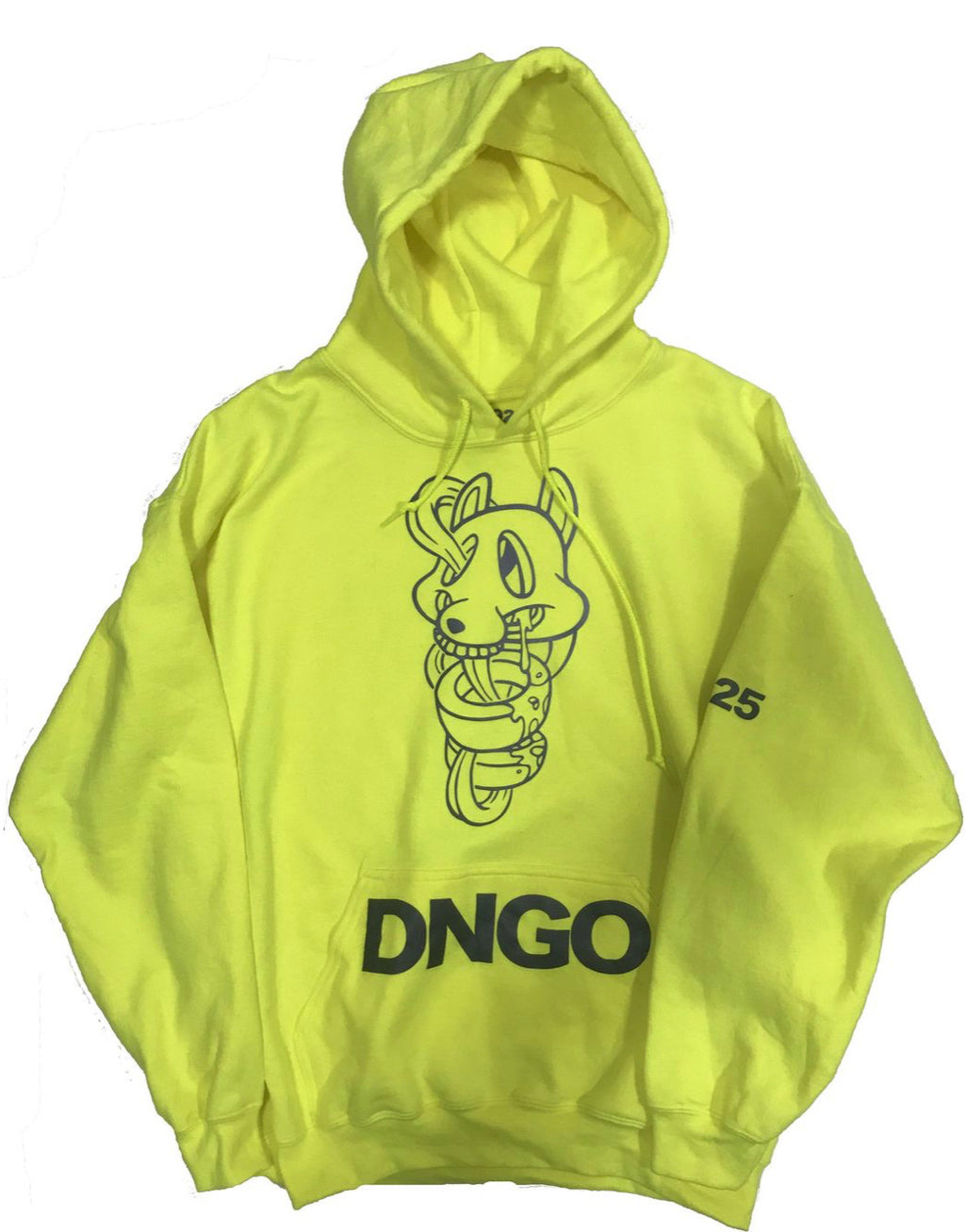 The OGD Hoodie Safety Green