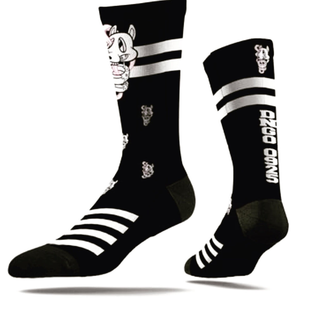 The DNGO Brand Crew Sock