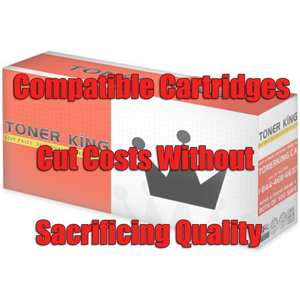 Compatible Cartridges Cut Costs Without Sacrificing Quality