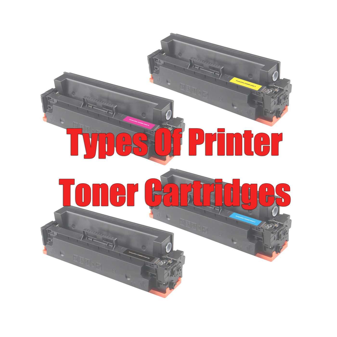 Types Of Printer Toner Cartridges