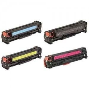 Compatible HP 304A Printer Laser Toner Cartridge Set of 4 (CC530A CC531A CC533A CC532A)
