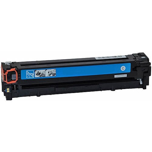 Compatible HP CB541A CE321A CF211A Cyan Printer Laser Toner Cartridge (HP 125 128 131) - Toner King