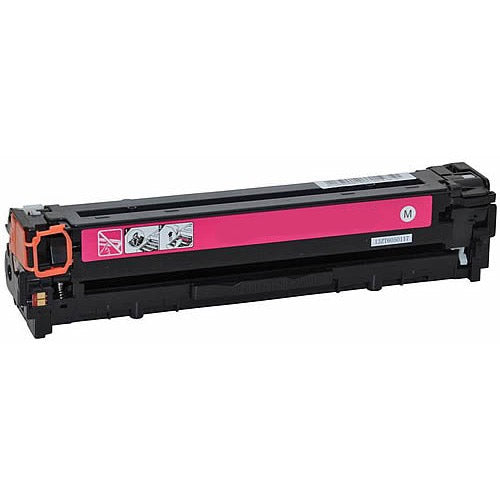 Compatible HP CB543A CE323A CF213A Magenta Printer Laser Toner Cartridge (HP 125 128 131) - Toner King