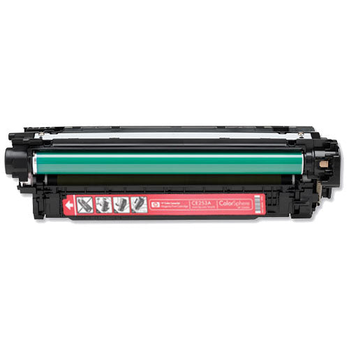 Compatible HP CE253A 504A Magenta Printer Laser Toner Cartridge - Toner King