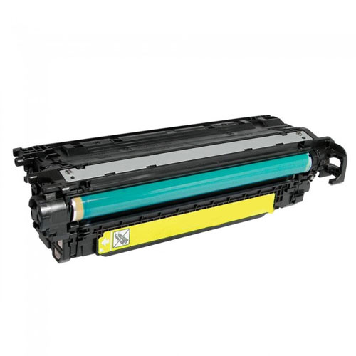 Compatible HP CE402A 507A Yellow Printer Laser Toner Cartridge - Toner King
