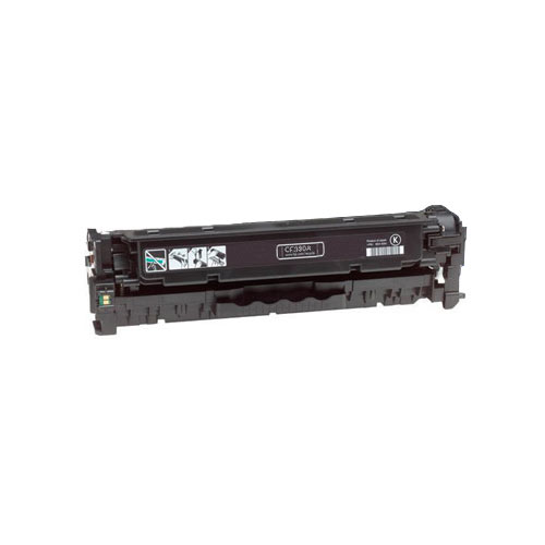 Compatible HP CF380X 312X Black Printer Laser Toner Cartridge High Yield - Toner King