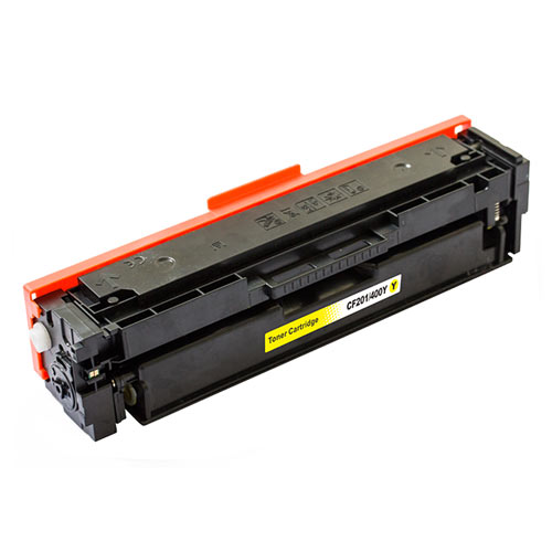 Compatible HP CF402A 201A Yellow Printer Laser Toner Cartridge - Toner King