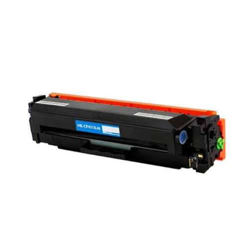 Compatible HP CF411X 410X Cyan Printer Laser Toner Cartridge High Yield - Toner King
