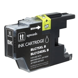Compatible Brother LC-75 LC75 Black Printer Ink Cartridge
