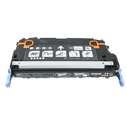 Compatible HP Q6470A 502A Black Printer Laser Toner Cartridge - Toner King