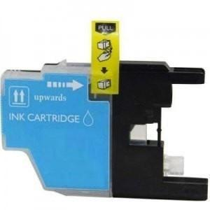 Compatible Brother LC-75 LC75 Cyan Printer Ink Cartridge