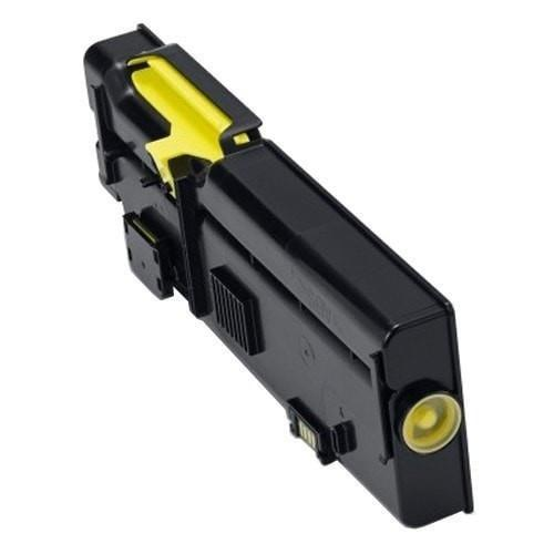 Dell 593-BBBR Compatible High Yield Yellow Toner Cartridge (2K1VC/YR3W3)