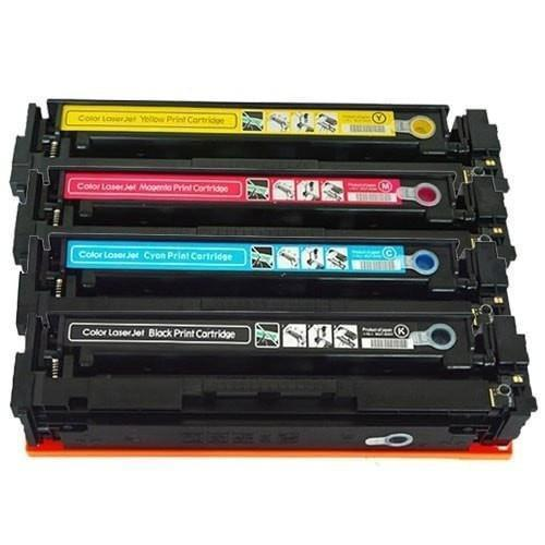 Compatible HP 201A Printer Laser Toner Cartridge Set of 4 (CF400A CF401A CF402A CF403A)
