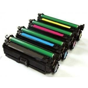 Compatible HP 507A Printer Laser Toner Cartridge High Yield Set of 4 (CE400X CE401A CE402A CE403A)