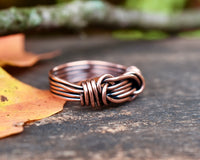 Copper Promise Ring for Him