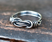 Sterling Silver Knot Ring for Her
