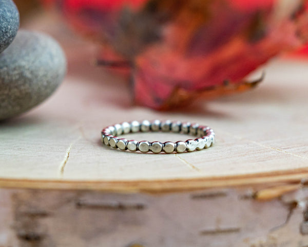 Polka Dot Stacker Ring