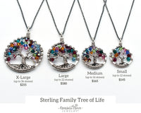 Sterling Silver Family Tree of Life