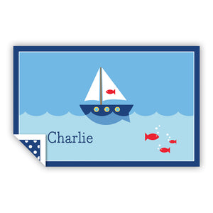 SAILBOAT PLACEMAT - Out of the Box NY Gifts