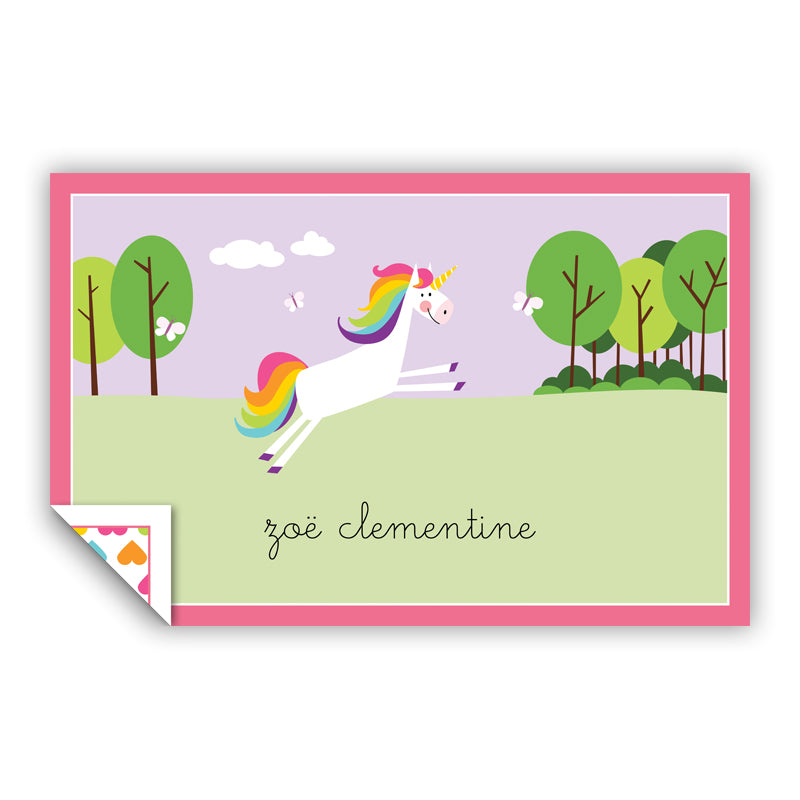 UNICORN PLACEMAT - Out of the Box NY Gifts