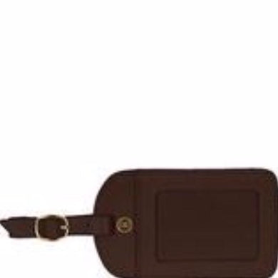 AMELIA LEATHER LUGGAGE TAGS - Out of the Box NY Gifts