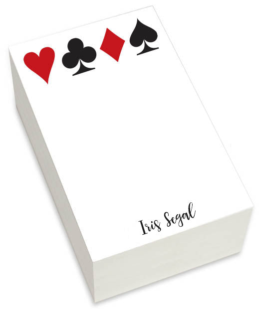 LARGE CARDS PAD - Out of the Box NY Gifts