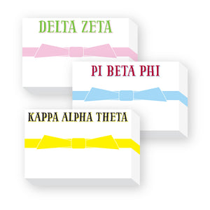 SORORITY NOTE PAD - Out of the Box NY Gifts