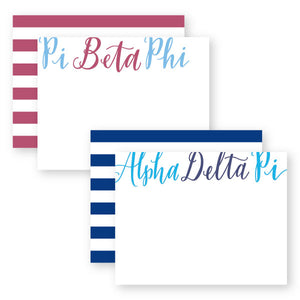 SORORITY STATIONERY - Out of the Box NY Gifts