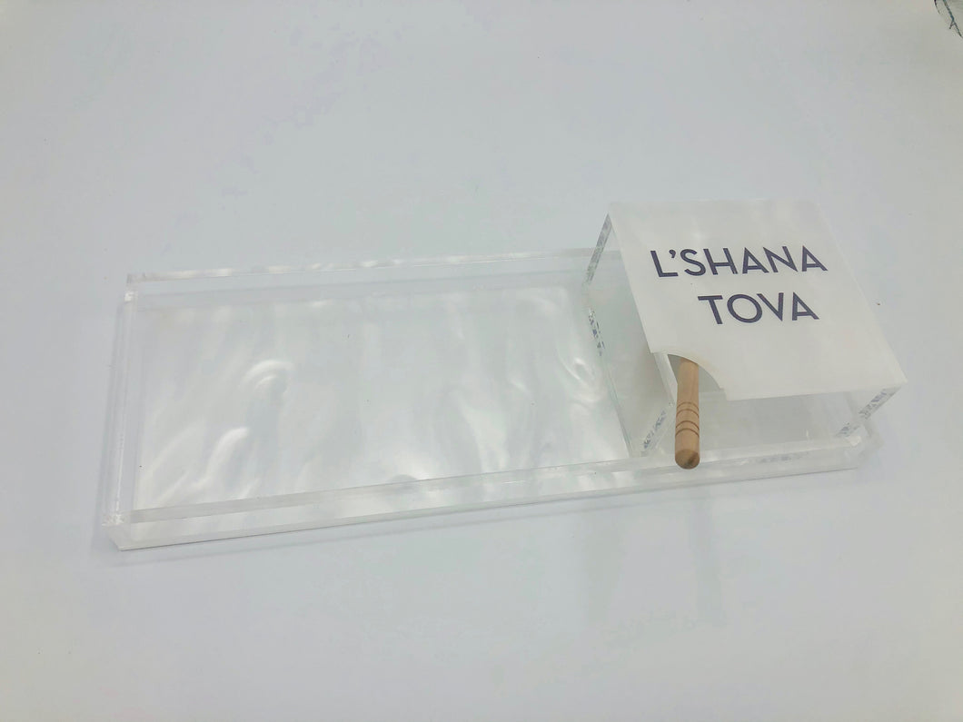 L'SHANAH TOVAH TRAY - Out of the Box NY Gifts