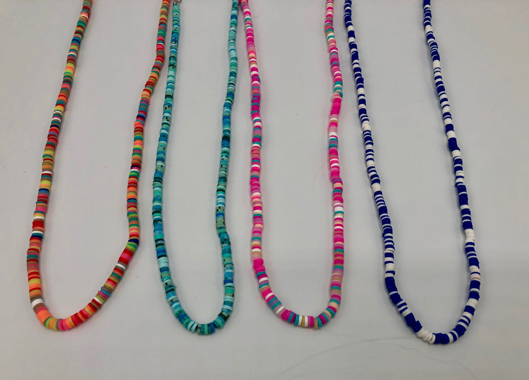 FACE MASK CHAINS - RAINBOW SHELLS - NEW COLORS! - Out of the Box NY Gifts