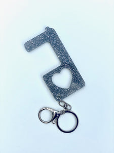 NO TOUCH ACRYLIC KEY CHAIN - Out of the Box NY Gifts