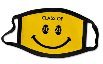 CLASS OF 2020 FACE MASKS - SMILEY - Out of the Box NY Gifts