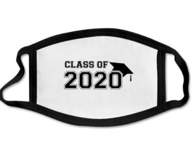 CLASS OF 2020 FACE MASKS - VARSITY - Out of the Box NY Gifts